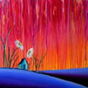 Where Flowers Bloom Print by Cindy Thornton