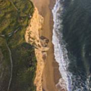 Where Land Meets The Sea Art Print