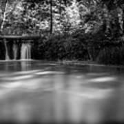 Where The River Ends Art Print