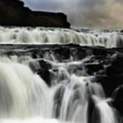 Where The Water Falls Art Print