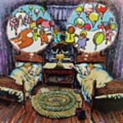 While Visions Of Sugarplums... Art Print