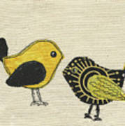 Whimsical Bird 2 Art Print