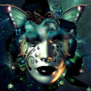Whimsical Masquerade Art Print