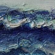 Whipped Cream Waves Art Print