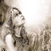 Whisper A Little Prayer For Me Art Print