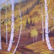 Whisper Of Leaves Art Print
