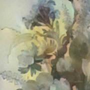 Whispering Flowers 2 Art Print