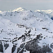 Whistler Mountain Panorama Art Print by Pierre Leclerc Photography