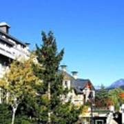 Whistler Village Art Print