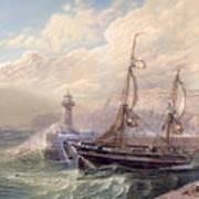 Whitby, 1883 Art Print