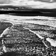 Whitby Sea And Sky  Art Print
