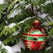 White Christmas II Art Print