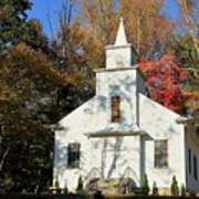 Little Country Church Art Print