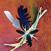 White Feather Art Print