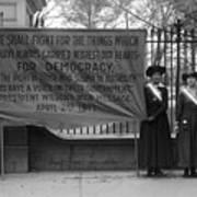White House: Suffragettes Art Print