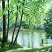 White Lick Creek  Art Print