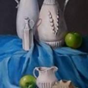 White Menagerie  Art Print