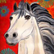 White Princes Art Print