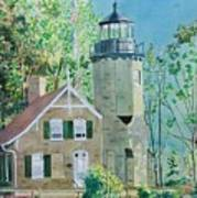 White River Light Art Print