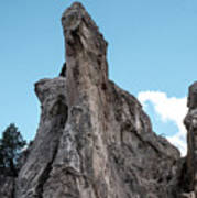 White Rock, Garden Of The Gods Art Print