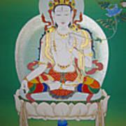 White Tara Art Print