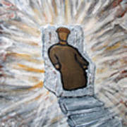 White Throne Of Heaven Art Print