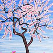 White Tree, Painting Art Print