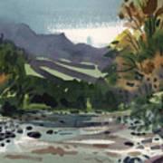 White Water On The White River Art Print