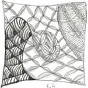 White Zen 14 Art Print