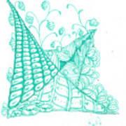 White Zen 26 Art Print