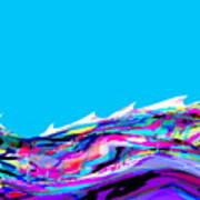 Whitecaps Art Print