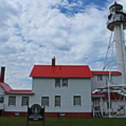 Whitefish Point Lighthouse I Art Print