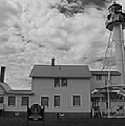 Whitefish Point Lighthouse Art Print