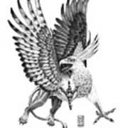 Whitehead Griffin Art Print