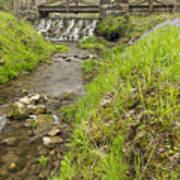 Whitewater Bridge And Dam Scene 13 Art Print