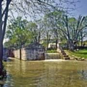 Whitewater Canal Metamora Indiana Art Print