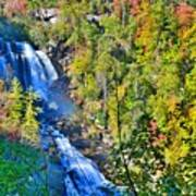 Whitewater Falls North Carolina Art Print