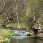 Whitewater River Spring 45 A Art Print