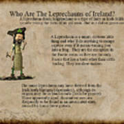 Who Are The Leprechyauns Of Ireland Art Print