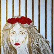 Who Is She? Art Print