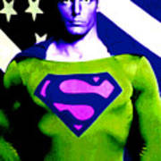 Who Is Superman Art Print