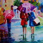Who Loves Shopping Art Print