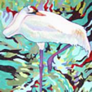 Whooping Crane Cynthia Art Print