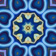 Whorl Kaleidoscope Art Print