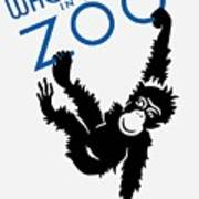 Who's Who In The Zoo - Wpa Art Print