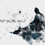 Why Do We Fall? Art Print