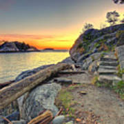 Whytecliff Park Sunset Art Print