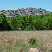 Wichita Mountains Wildlife Refuge - Oklahoma Art Print