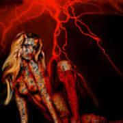 Wicked Beauty Art Print