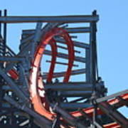 Wicked Cyclone Stall Art Print